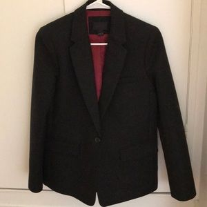Jcrew  collection wool blazer black size 2